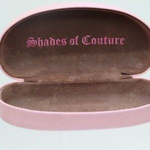 Juicy Couture Accessories - Shades of Couture Juicy Pink Eye Glasses Case